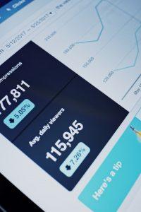 Metrics in online marketing